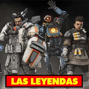 Conoce los mejores personajes de apex legends