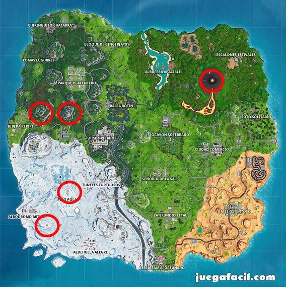 Visita los 5 puntos más altos de la isla. 1