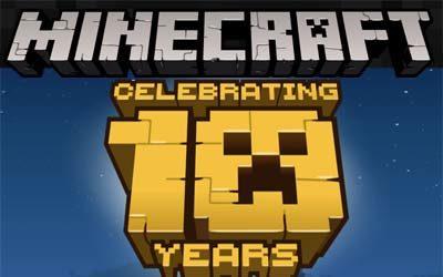 Aniversario de Minecraft y un mapa gratis para celebrarlo. 1