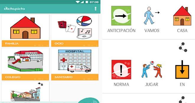 Aplicaciones para niños con TEA
