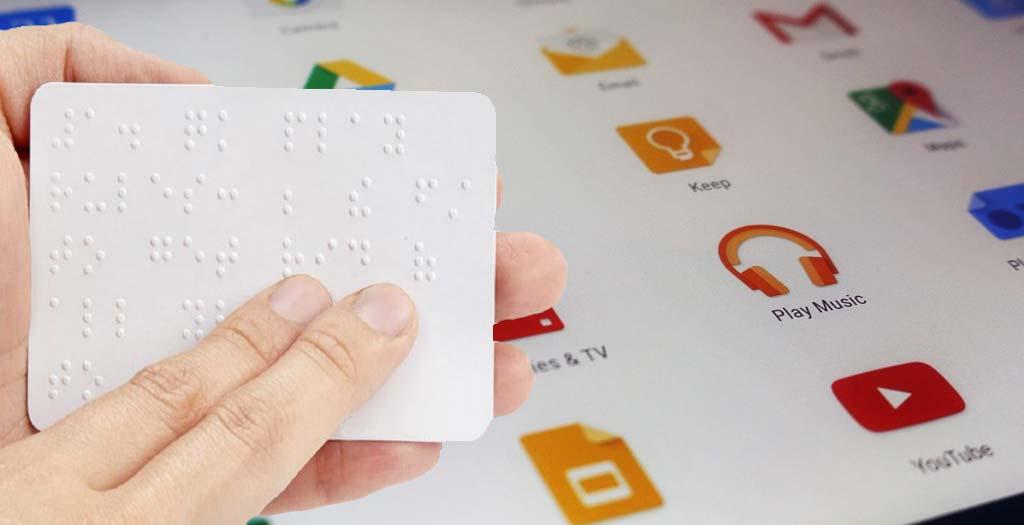Google añade un teclado de Braille para Android, descubre como usarlo 1